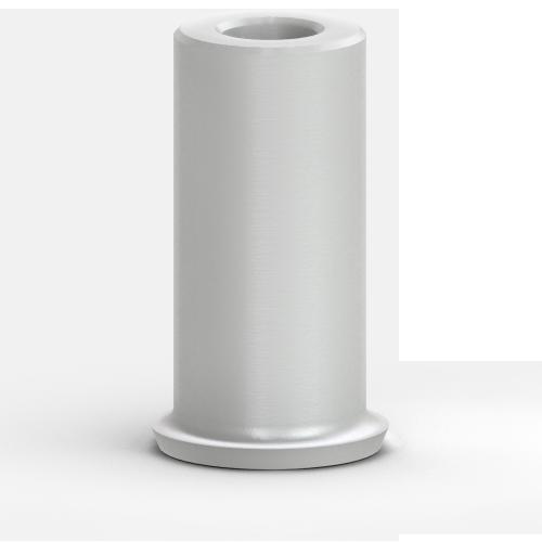 Picture of 6.0mm Plastic Custom Cast Abutment, Non-hexed