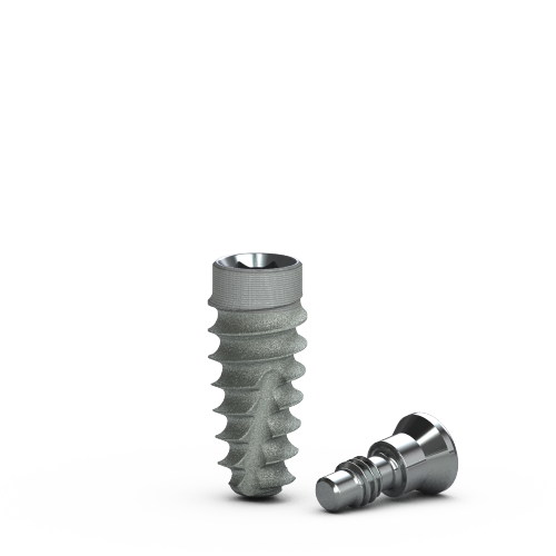 Picture of 3.8mm x 9mm Tapered Pro Implant, Laser-Lok, RBT