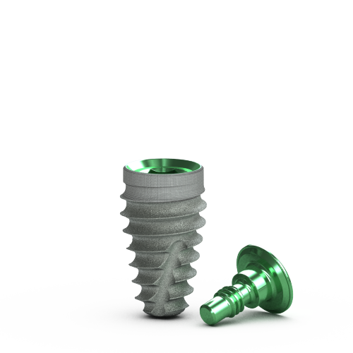 Picture of 5.2mm x 9mm Tapered Pro Implant, Laser-Lok, RBT