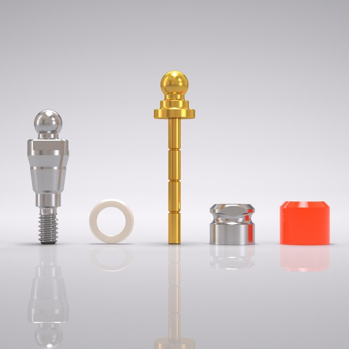 Picture of CONELOG® Ball abutment set Ø 3.3 mm, GH 1.5 mm