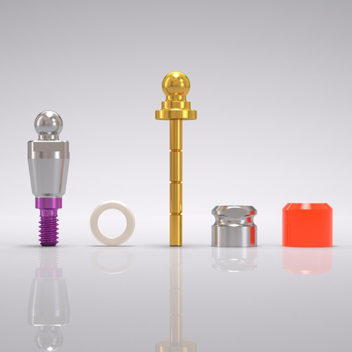 Picture of CONELOG® Ball abutment set Ø 4.3 mm, GH 1.5 mm