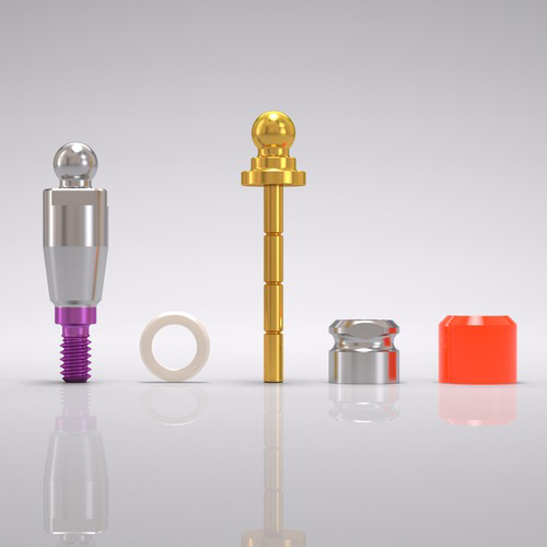 Picture of CONELOG® Ball abutment set Ø 4.3 mm, GH 3.0 mm