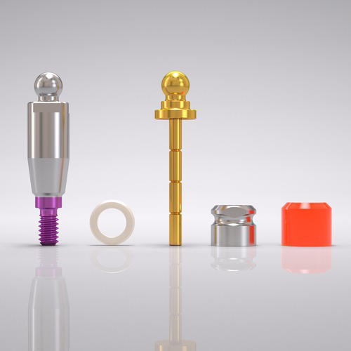 Picture of CONELOG® Ball abutment set Ø 4.3 mm, GH 4.5 mm