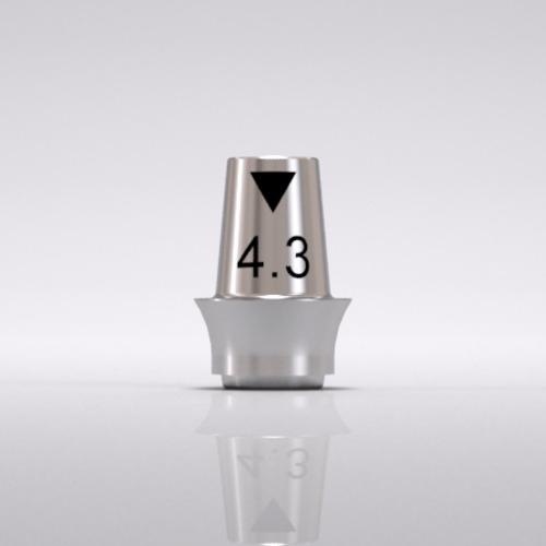 Picture of CONELOG® Titanium base CAD/CAM, bridge Ø 4.3, GH 2.0
