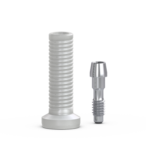 Picture of FlatOne® Abutment Plastic Cylinder, w/ Retaining Screw