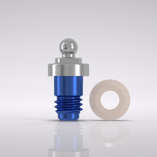 Picture of CAMLOG® Ball abutment male part Ø 5.0 mm, GH 1.5 mm