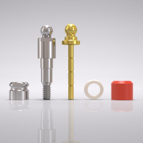 Picture of CAMLOG® Ball abutment set Ø 3.3 mm, GH 3.0 mm