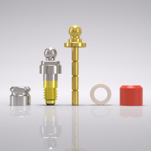 Picture of CAMLOG® Ball abutment set Ø 3.8 mm, GH 1.5 mm