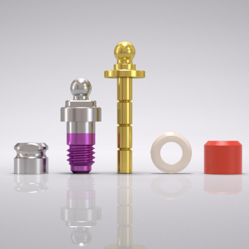 Picture of CAMLOG® Ball abutment set Ø 4.3 mm, GH 1.5 mm