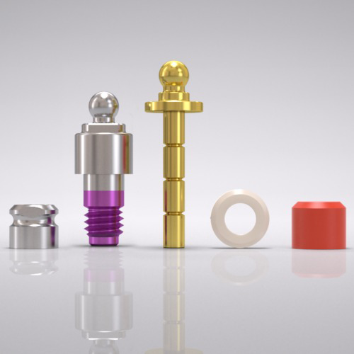 Picture of CAMLOG® Ball abutment set Ø 4.3 mm, GH 3.0 mm