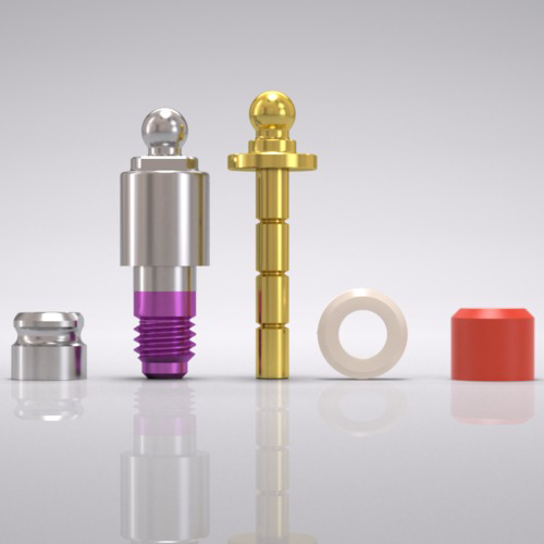 Picture of CAMLOG® Ball abutment set Ø 4.3 mm, GH 4.5 mm