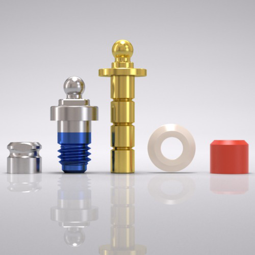 Picture of CAMLOG® Ball abutment set Ø 5.0 mm, GH 1.5 mm