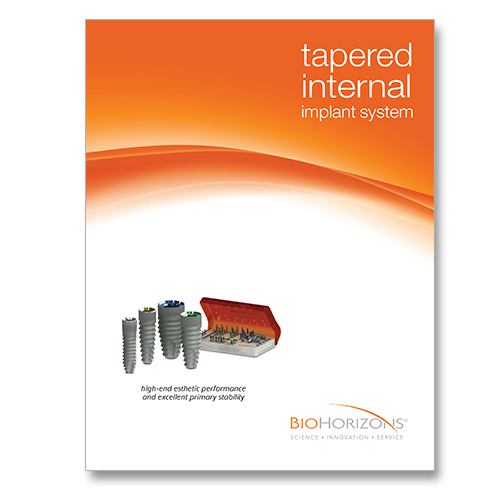Picture of Tapered Internal Catalog & Surgical Manual (with TSK3000)