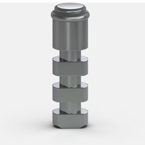Foto de Análogo del Pilar de 3.35 mm, Sistema de Fijación Locator R-Tx (Paquete de 4)