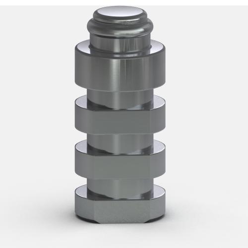 Foto de Análogo del Pilar de 5 mm, Sistema de Fijación Locator R-Tx (Paquete de 4)