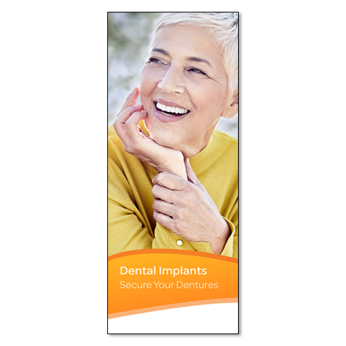 Picture of Overdenture Patient Education Brochure, 50 pk