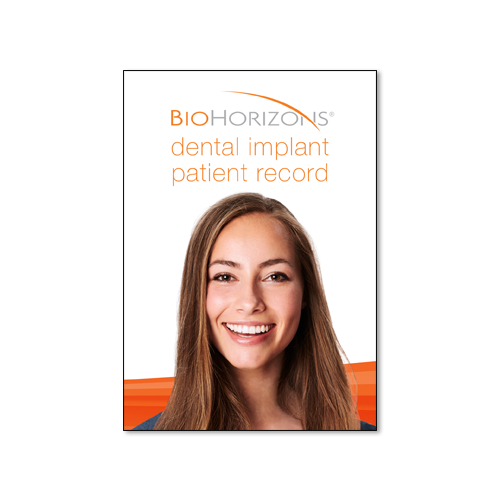 Picture of Patient Dental Implant Record (pack of 15)