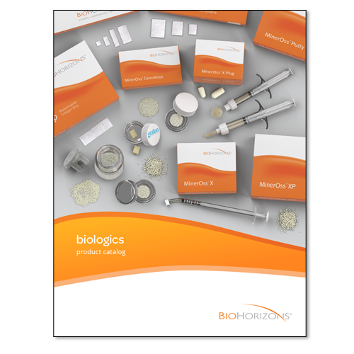 Picture of BioHorizons Regeneration Product Catalog