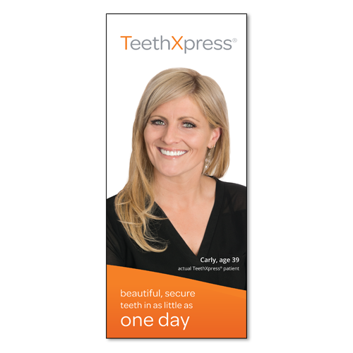 Picture of TeethXpress Patient Education Brochure - Carly (50 pk)