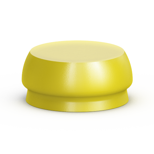 Picture of ODSecure Retention Cap Insert (Yellow)(X-Soft)(4 pack)