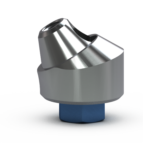 Picture of 5.7mm Multi-unit Abutment, 30-degree, 4mm Collar