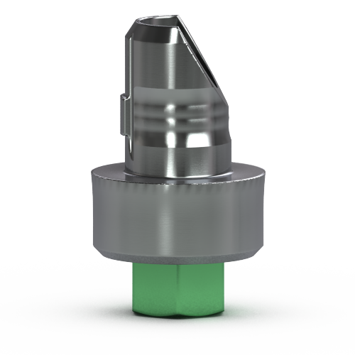 Picture of 4.5mm Hybrid Abutment Base, 2mm Collar Height