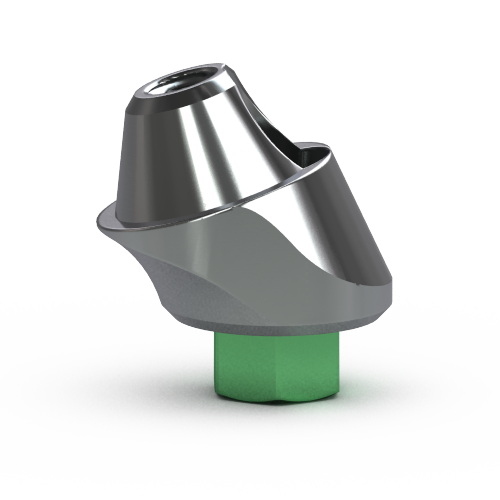 Picture of 4.5mm Multi-unit Abutment, 17-degree, 3mm Collar