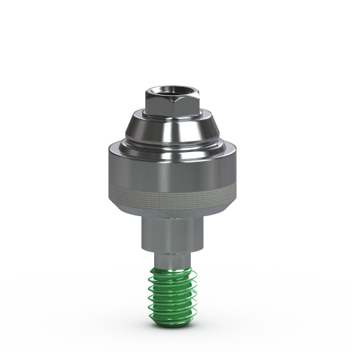 Picture of 4.5mm Multi-unit Abutment, Straight 2mm Collar with Laser-Lok