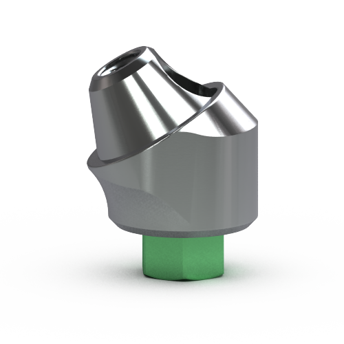 Picture of 4.5mm Multi-unit Abutment, 30-degree, 4mm Collar