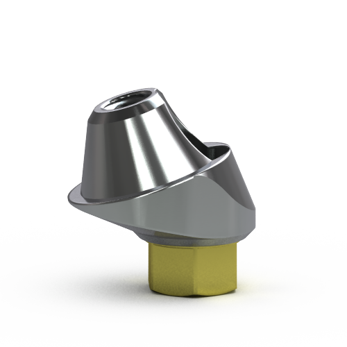 Picture of 3.5mm Multi-unit Abutment, 17-degree, 2.25mm Collar