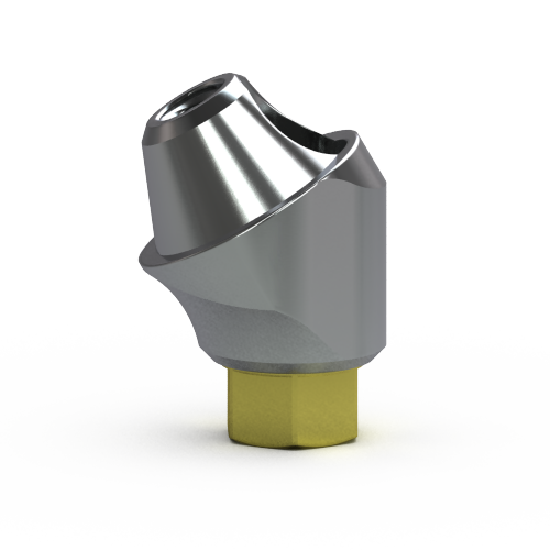 Picture of 3.5mm Multi-unit Abutment, 30-degree, 4mm Collar