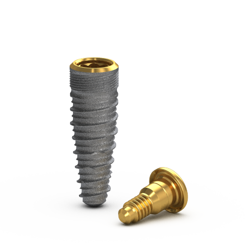 Picture of Gs Blossom™ Implant Ø3.75 x 11.5mm + Cover Screw