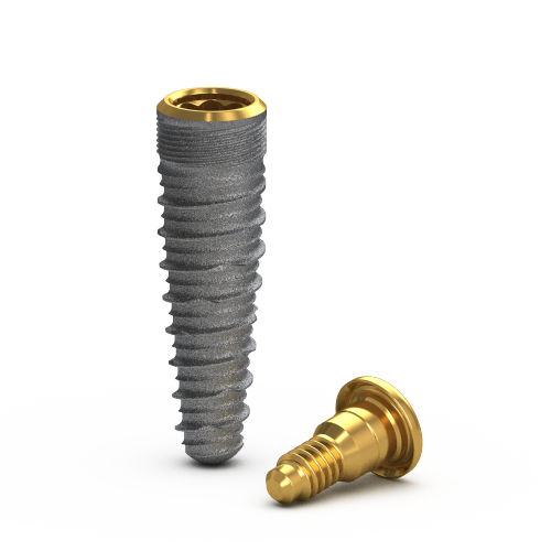 Picture of Gs Blossom™ Implant Ø3.75 x 13m + Cover Screw