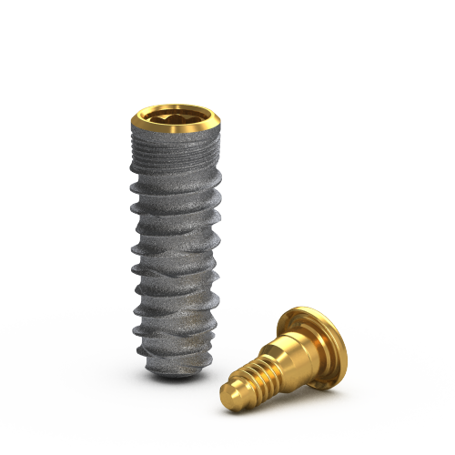 Picture of Gs Blossom™ Implant Ø4.0 x 11.5mm + Cover Screw