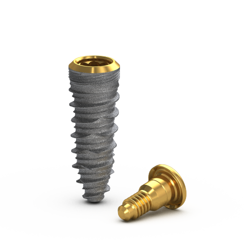 Picture of Gs Blossom™ CT Implant Ø4.0 x 11.5mm + Cover Screw