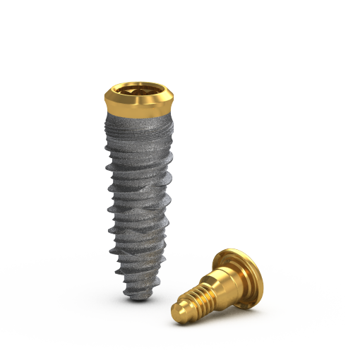 Picture of Gs Blossom™ CT Implant Ø4.0 x 11.5mm, Long + Cover Screw