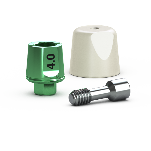 Picture of Single-stage 4.5mm Simple Solutions Abutment Pack, 4.0mm