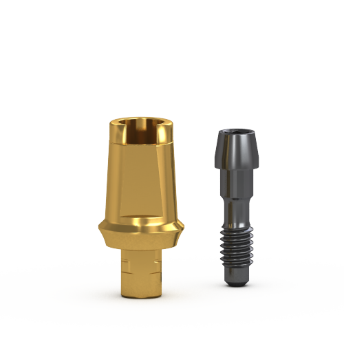 Picture of Gs Two Piece Flare Abutment 1mm Cuff, w/ Retaining Screw