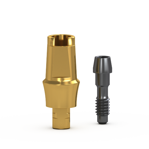 Picture of Gs Two Piece Flare Abutment 3mm Cuff, w/ Retaining Screw