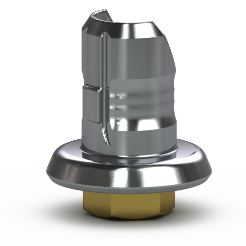 Picture of Single-stage 3.5mm Hybrid Abutment Base, Hexed