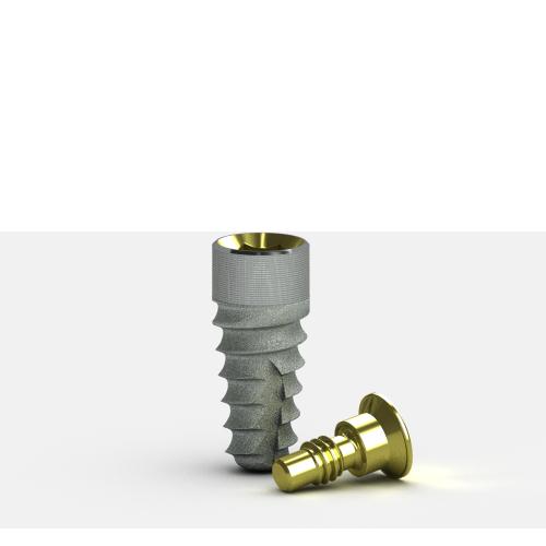 Foto de Implante Tapered Internal RBT+Laser-Lok 3.8 x 9mm sin pilar