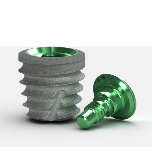 Picture of Tapered Short Implant, Laser-Lok, 5.8 x 6.0mm, 4.5mm Platform