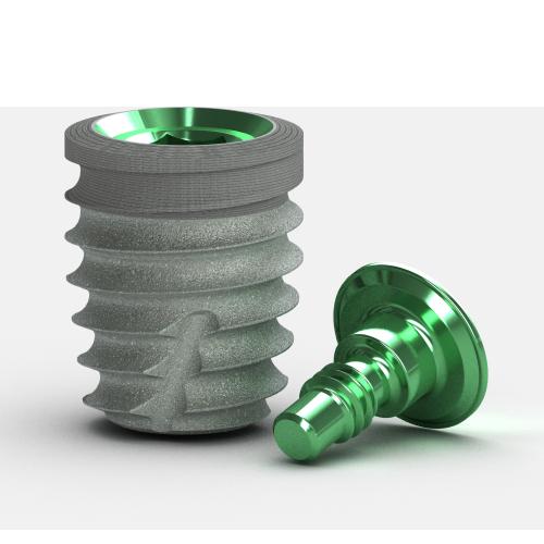 Picture of Tapered Short Implant, Laser-Lok, 5.8 x 7.5mm, 4.5mm Platform