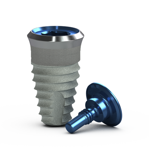 Foto de Implante a Nivel Tisular Tapered, 5.8 x 9 mm, Plat. 5.7