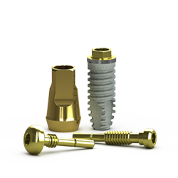 Picture of External Implant RBT, D3 Threadform 3.5 x 9mm