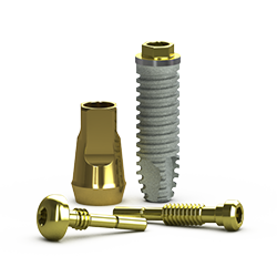 Picture of External Implant RBT, D3 Threadform 3.5 x 12mm