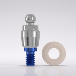 Picture of CONELOG® Ball abutment male Ø 5.0 mm, GH 1.5 mm