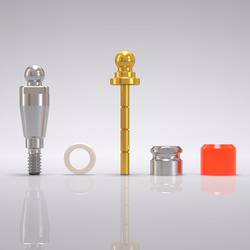 Picture of CONELOG® Ball abutment set Ø 3.3 mm, GH 3.0 mm