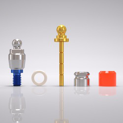 Picture of CONELOG® Ball abutment set Ø 5.0 mm, GH 1.5 mm