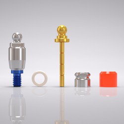 Picture of CONELOG® Ball abutment set Ø 5.0 mm, GH 3.0 mm
